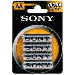 SONY Baterie tužkové SUM3NUB4A, 4ks R6/AA ULTRA, SUM3NUB4A