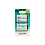 Sony NiMH AA nabíjecí baterie 2500mAh- 4ks, NH-AAB4GN
