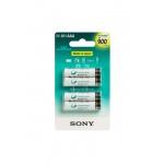 Sony NiMH AAA nabíjecí baterie 900mAh- 4ks, NH-AAAB4GN