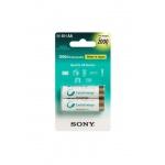 Sony NiMH AA nabíjecí baterie 2000mAh- 2ks, NH-AAB2KN