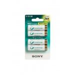 Sony NiMH AA nabíjecí baterie 2000mAh- 4ks, NH-AAB4KN