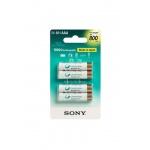 Sony NiMH AAA nabíjecí baterie 800mAh- 4ks, NH-AAAB4KN