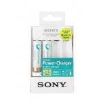 Sony NiMH Compact nabíječka BCG-34HHU2K,2x 1900Ah, BCG-34HHU2K