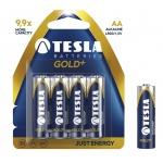 TESLA - baterie AA GOLD+, 4ks, LR06, 1099137004