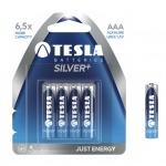 TESLA - baterie AAA SILVER+, 4ks, LR03, 1099137002