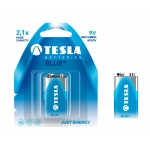 TESLA - baterie 9V BLUE+, 1ks, 6F22, 1099137098