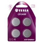 TESLA - baterie TESLA CR2430, 4ks, CR2430, 1099137108