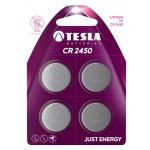 TESLA - baterie TESLA CR2450, 4ks, CR2450, 1099137109