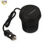 Whitenergy WE auto adaptér CUP 2x USB 5V 3.1A, 10419 - neoriginální