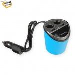 Whitenergy WE auto adaptér CUP 2x USB, 2x CS 5V 9.6A, 10420 - neoriginální