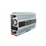 Whitenergy WE Měnič napětí DC/AC 24V / 230V, 1500W, 2 zásuvky, 06590