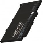 2-POWER Baterie 11,1V 3300mAh pro Dell Latitude E7270, Latitude E7470, 77053296 - neoriginální