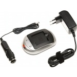 Nabíječka T6 power Panasonic DMW-BCC12, CGA-S005E, DB-60, IA-BP125A, 230V, 12V, 0,5A, BCPA0005