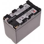 Baterie T6 power Sony NP-F930, NP-F950, NP-F960, NP-F730H, NP-F970, 7800mAh, šedá, VCSO0031 - neoriginální