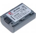 Baterie T6 power Sony NP-FP50, 750mAh, šedá, VCSO0036 - neoriginální