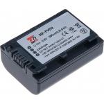 Baterie T6 power Sony NP-FV50, 980mAh, šedá, VCSO0053 - neoriginální