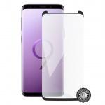 Screenshield SAMSUNG G960 Galaxy S9 Tempered Glass Protection (black - CASE FRIENDLY), SAM-TG3DBCFG960-D