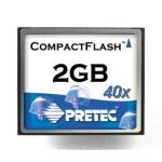 Pretec 2.0GB karta CompactFlash HighSpeed, PCACF2G