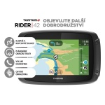 TomTom Rider 42 CE19 pro motocykly, LIFETIME mapy, 1GE0.029.20