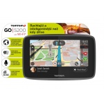 TomTom GO 5200 World, Wi-Fi, LIFETIME mapy, 1PL5.002.01