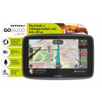 TomTom GO 6200 World, Wi-Fi, LIFETIME mapy, 1PL6.002.01