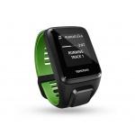 TomTom Runner 3 Cardio + Music + Bluetooth sluchátka (S), černá/zelená, 1RKM.001.11