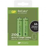 Gp Baterie Nabíjecí baterie GP RECYKO AA (2100mAh)- 2ks, 1032212070