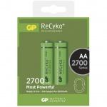 Gp Baterie Nabíjecí baterie GP RECYKO AA (2700mAh)- 2ks, 1032212130