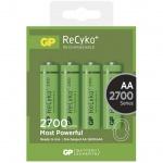 Gp Baterie Nabíjecí baterie GP AA 2700 NiMH 4ks, 1032214130