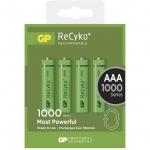 Gp Baterie Nabíjecí baterie GP RECYKO AAA (1000mAh)- 4ks, 1032114080