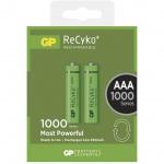 Gp Baterie Nabíjecí baterie GP AAA 1000 NiMH 2ks, 1032112080