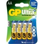 GP Ultra Plus 4x AA, 1017214000