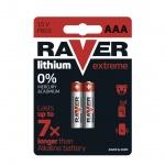 Gp Baterie Lithiová baterie RAVER 2x AAA, 1321112000