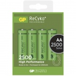 Gp Baterie GP nabíjecí baterie RECYKO AA (2500mAh)- 4ks, 1032214113