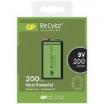 Gp Baterie Nabíjecí baterie GP 6F22/ 9V (200mAh)- 1ks, 1033511030