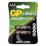 Gp Baterie Lithiová baterie GP AAA - 2ks, 1022000412