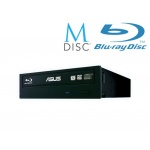 AKCE_ASUS BC-12D2HT BLACK interní BD COMBO bulk + verbatim M-disk, 90DD01K0-B30000/ 90DD0230