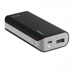 TRUST Primo PowerBank 4400 Portable Charger - black, 21224