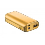 TRUST PowerBank 4400 Portable Charger - gold, 20901