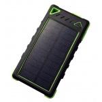 VIKING Solární outdoorová powerbanka Akula I 8000mAh, 20Led, Zelená, AKU080G