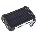 VIKING Solární Outdoorová Powerbanka Delta I 8000mAh, Černo-Bílá, DEL080BW