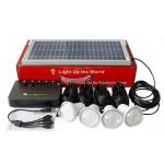 VIKING solární domácí osvětlovací set RE5204 - HOME SOLAR KIT RE5204, VHSRE5204