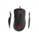 Herní optická myš Genesis Xenon 750, RGB podsvícení, software, 10200DPI, výměnné boční rukojeti, Z25370
