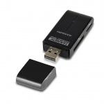 AXAGON externí HANDY čtečka SD/MicroSD/MS/M2,černá, CRE-D4B