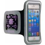 GAIAM Sport Armband Purple - small phone, 07308