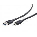 Gembird Kabel CABLEXPERT USB 3.0 AM na Type-C kabel,1m, CCP-USB3-AMCM-1M