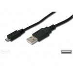 PremiumCord Kabel micro USB, A-B 1m, ku2m1f