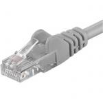 Premiumcord Patch kabel UTP RJ45-RJ45 level 5e 50m šedá, sputp500