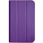 """BELKIN 7"""" Pouzdro/stojánek Tri-Fold pro Samsung Galaxy Tab 4, fialové, F7P256B2C01"""