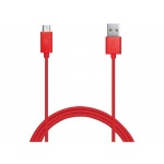 BELKIN MixIt microUSB kabel_tablet,phone,2m červen, F2CU012bt2M-RED
